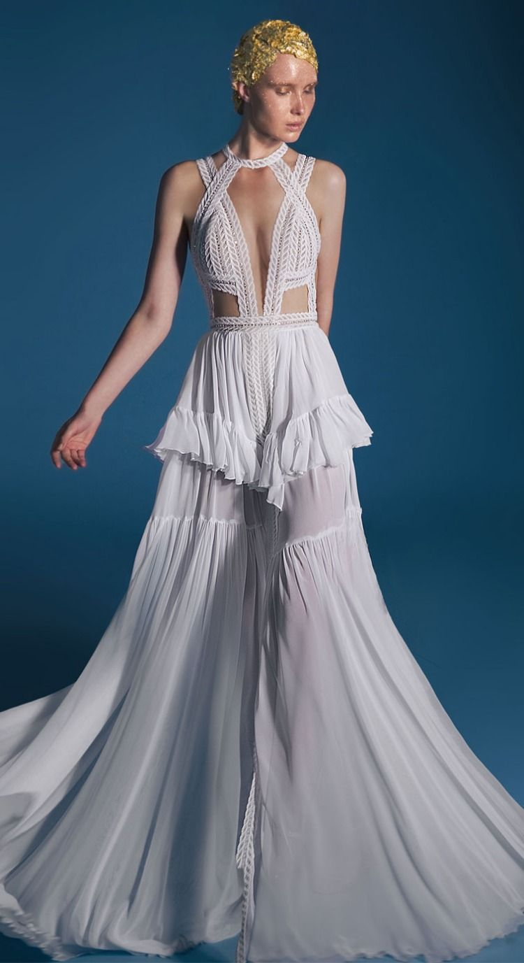 """Lior Charchy Wedding Dresses 2018 """"Craft Label 2018"""" Bridal Collection"""