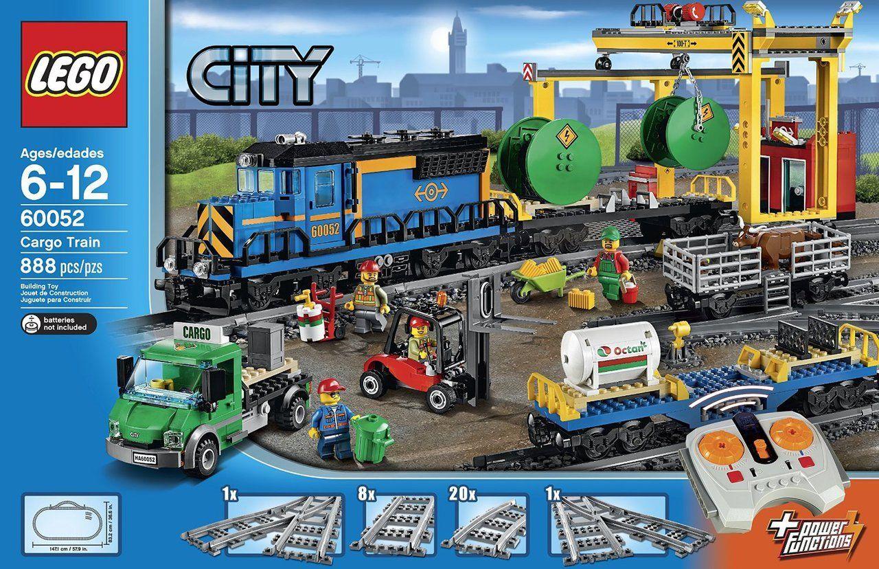 Lego City Cargo Train 60052 Lego City Cargo Train Lego Cargo Train Lego City Train