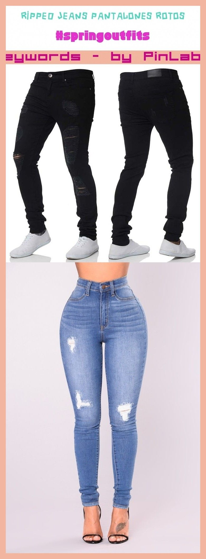 Photo of Ripped jeans pantalones rotos #ripped #jeans #pantalones #rotos #zerrissene