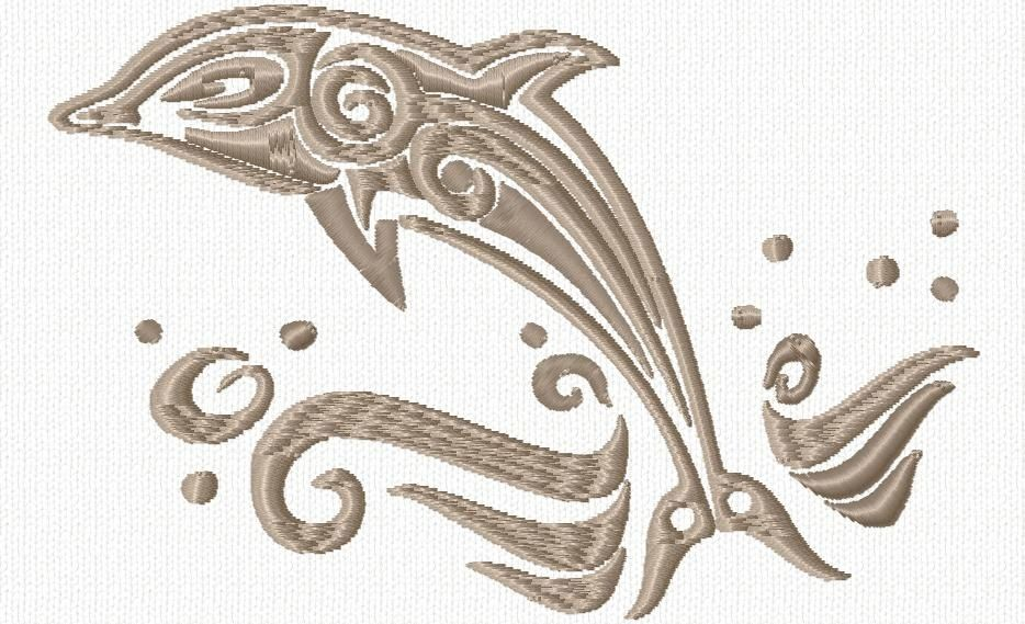 Dauphin 2 Embroidery Designs And Embroidery