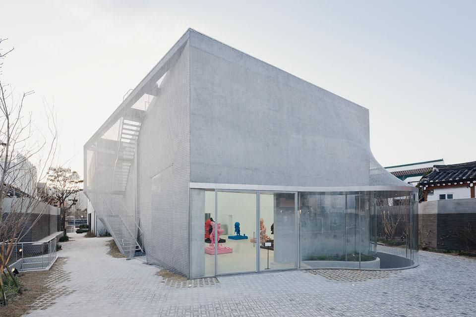 The K3 building for Kujke Gallery in Seoul, South Korea