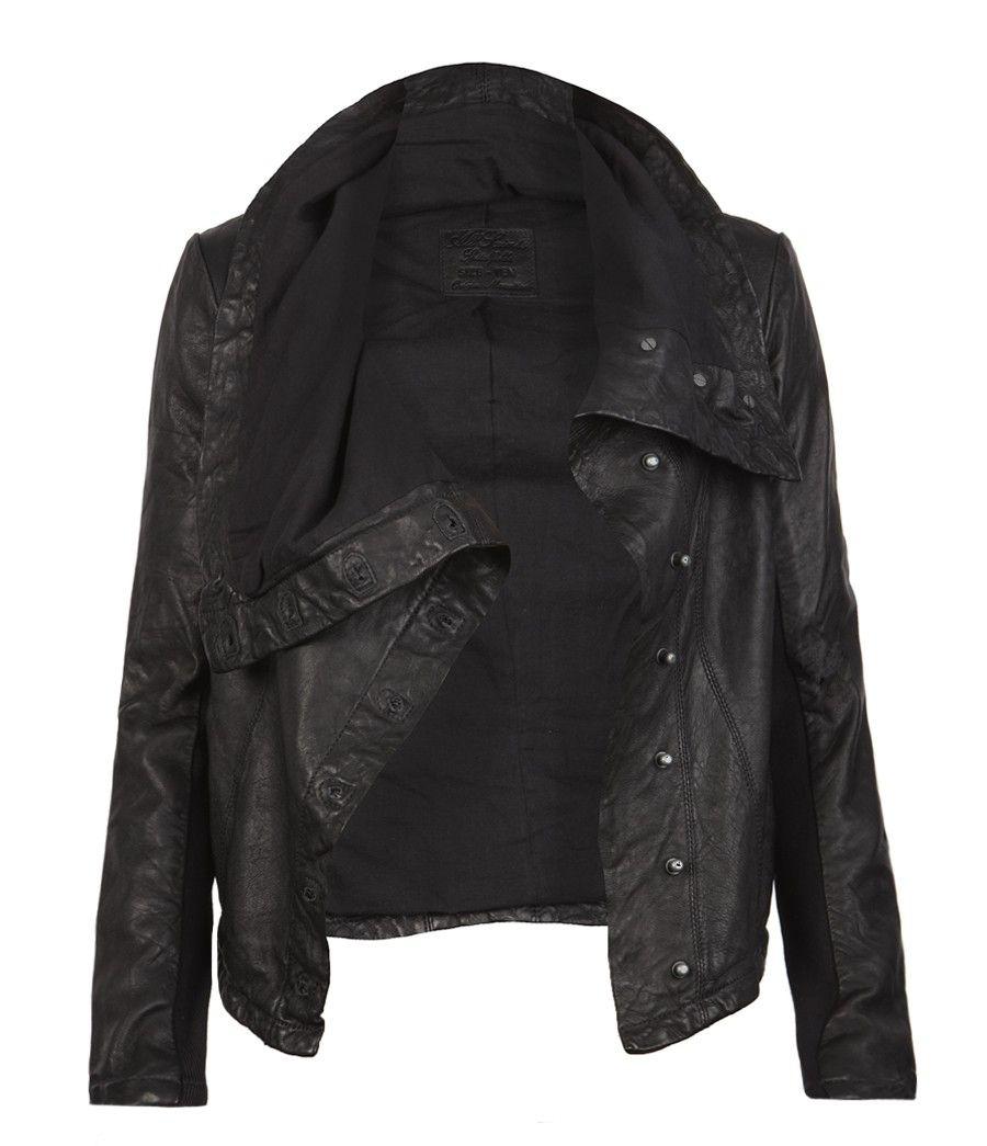 kaito leather jacker