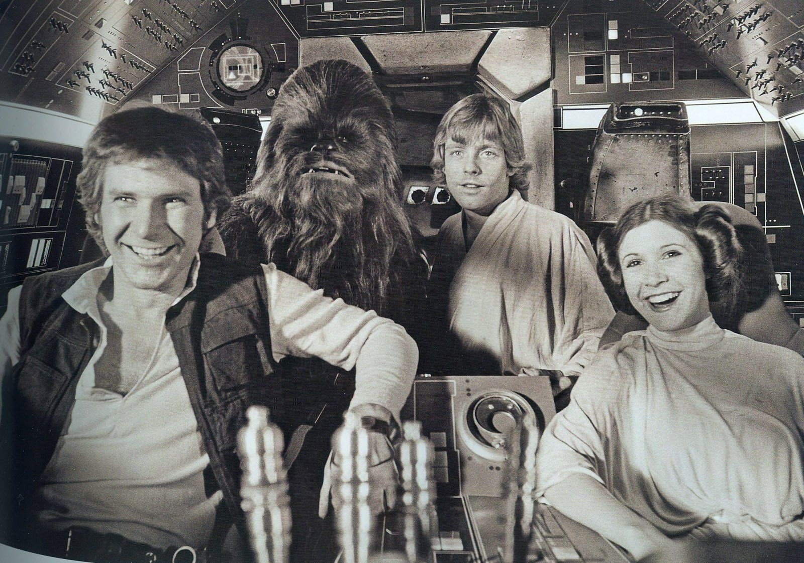 Resultado de imagem para fotos raras star wars