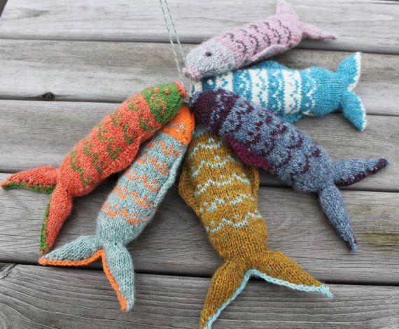 Fair Isle-Fisch-Strickmuster | Toys to Knit | Pinterest | Stricken ...