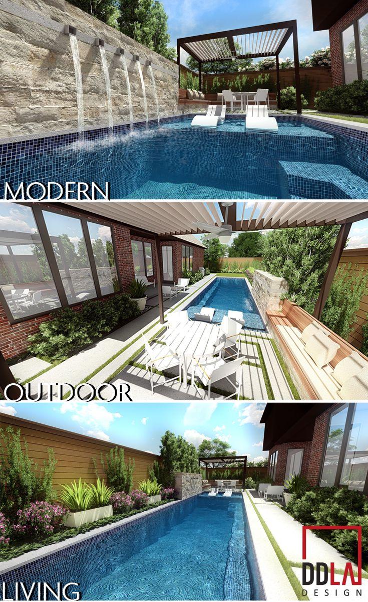 Pool Design Dallas custom designed dallas swimming pool Ddla Design Dallas Landscape Architecture Specilizing In Modern Outdoor Living Swimming Pool Design