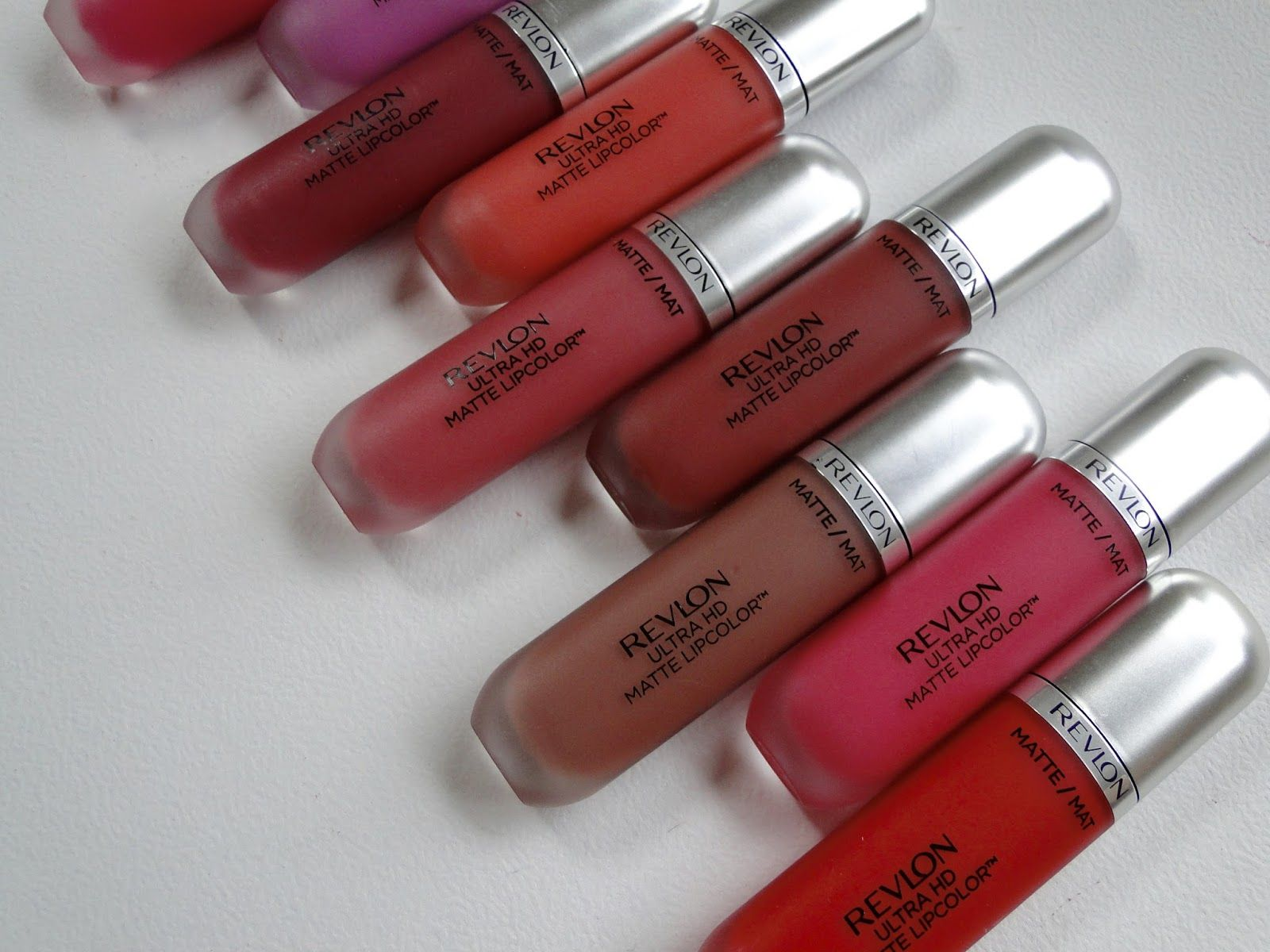 Ultra HD Matte Lipcolor, los nuevos labiales de Revlon. / Get Glam Or Die Trying