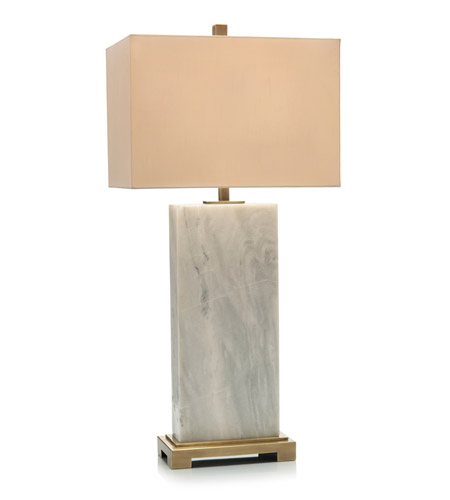 John Richard Jrl 9228 Marble Slab 34 Inch 150 Watt Brass And White Marble Table Lamp Portable Light In 2020 Tall Table Lamps Marble Table Lamp White Table Lamp
