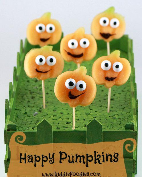 Happy pumpkins, Halloween party food ideas Recipe Halloween - halloween party food ideas for kids