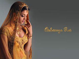 Aishwarya Rai Side Face Pics