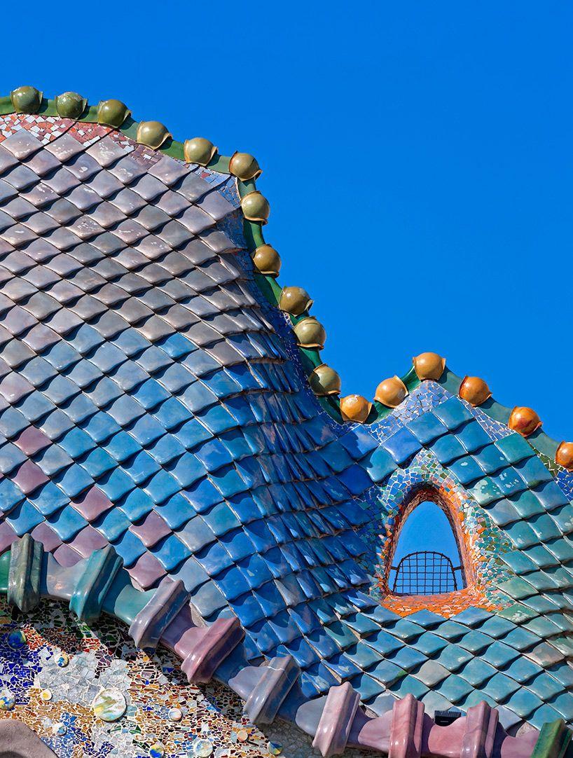 Casa Batllo Barcelona Spain Architect Antoni Gaudi