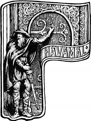 Advice from a Norse God: Wisdom from the Hávamál