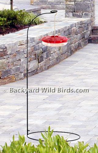 Patio Bird Feeder Stand