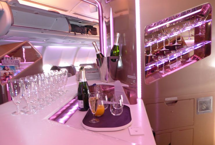 7 reasons to fly virgin atlantic upper class with images