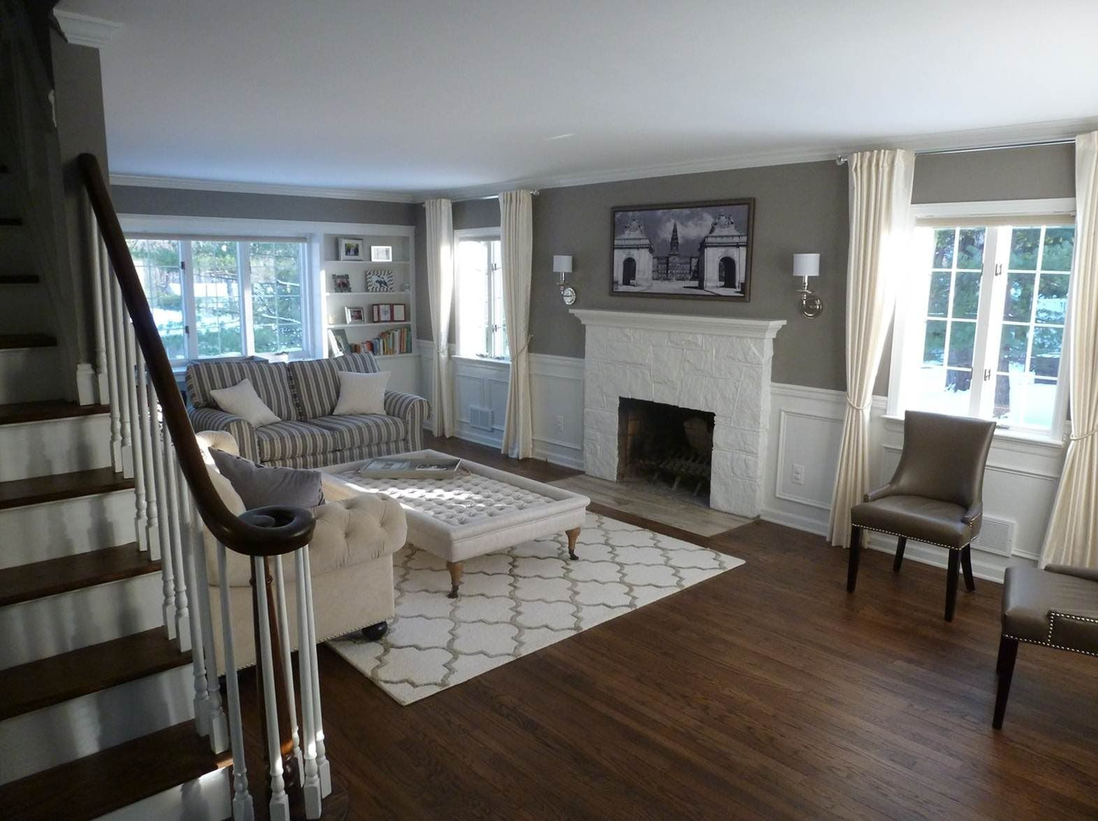 Colonial Remodeling before and after photos from marjun 2013 renovation of 2400 sqft