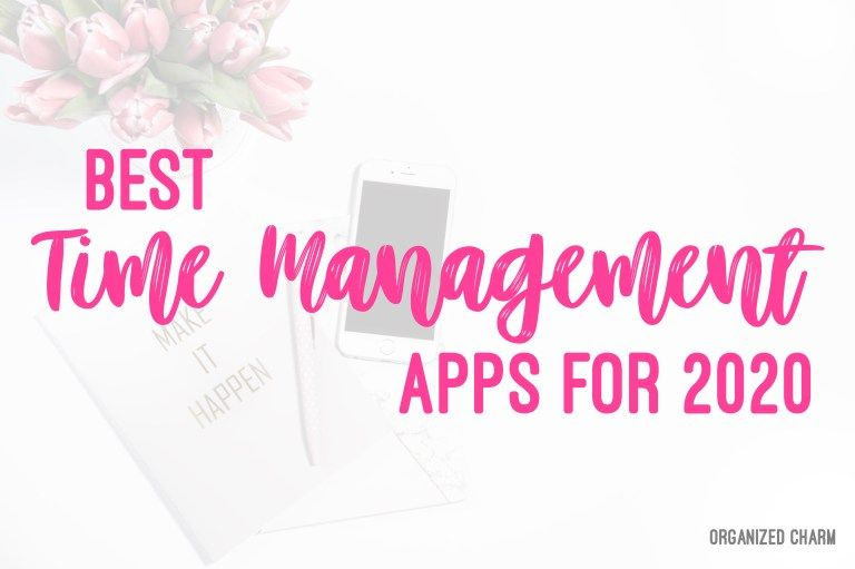 Best Time Management App List 2020 in 2020 Good time