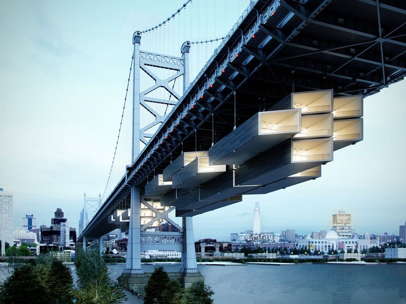Under the bridge on Behance | Bridges architecture ...