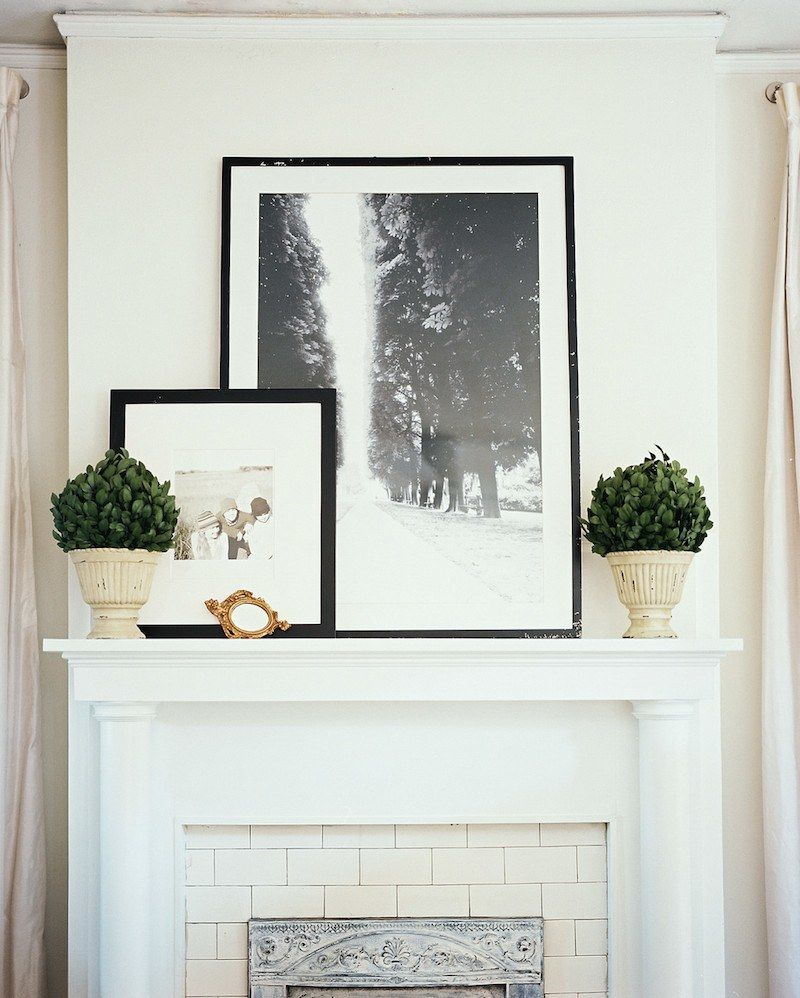 the ultimate guide to fireplace mantel decorating fireplace rh pinterest com Decorating Fireplace Mantels for Christmas Summer Wreath French Country Mantle
