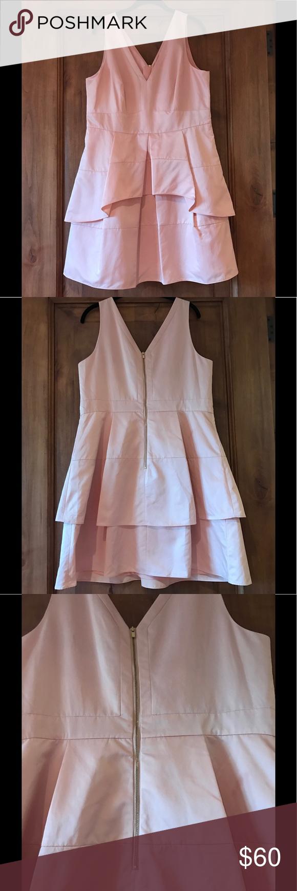 Banana Republic Pink Dress (sz. 16) Pink knee length Banana Republic dress. Size 16. Never worn. Banana Republic Dresses