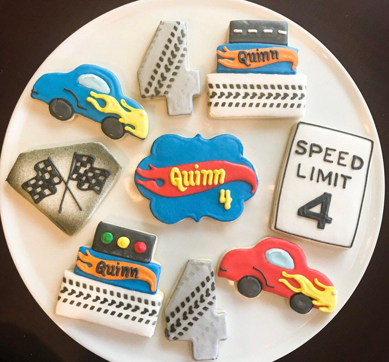 Hot Wheels Birthday Cookies / One Dozen | Etsy