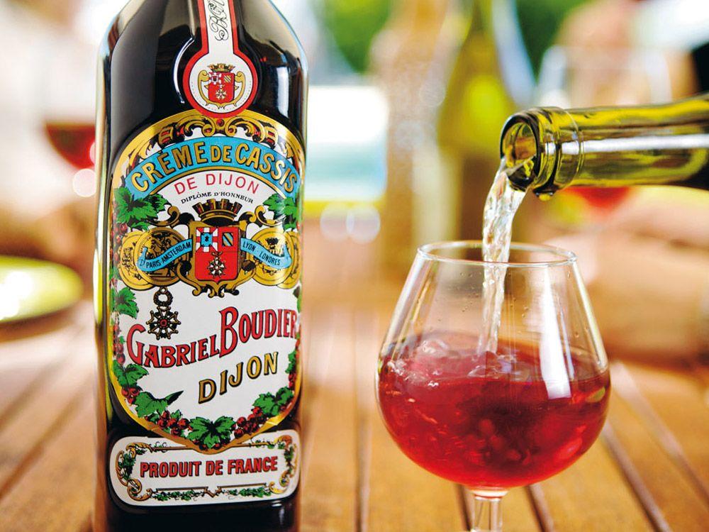 Creme De Cassis De Dijon Gabriel Boudier Since 1874 Creme De