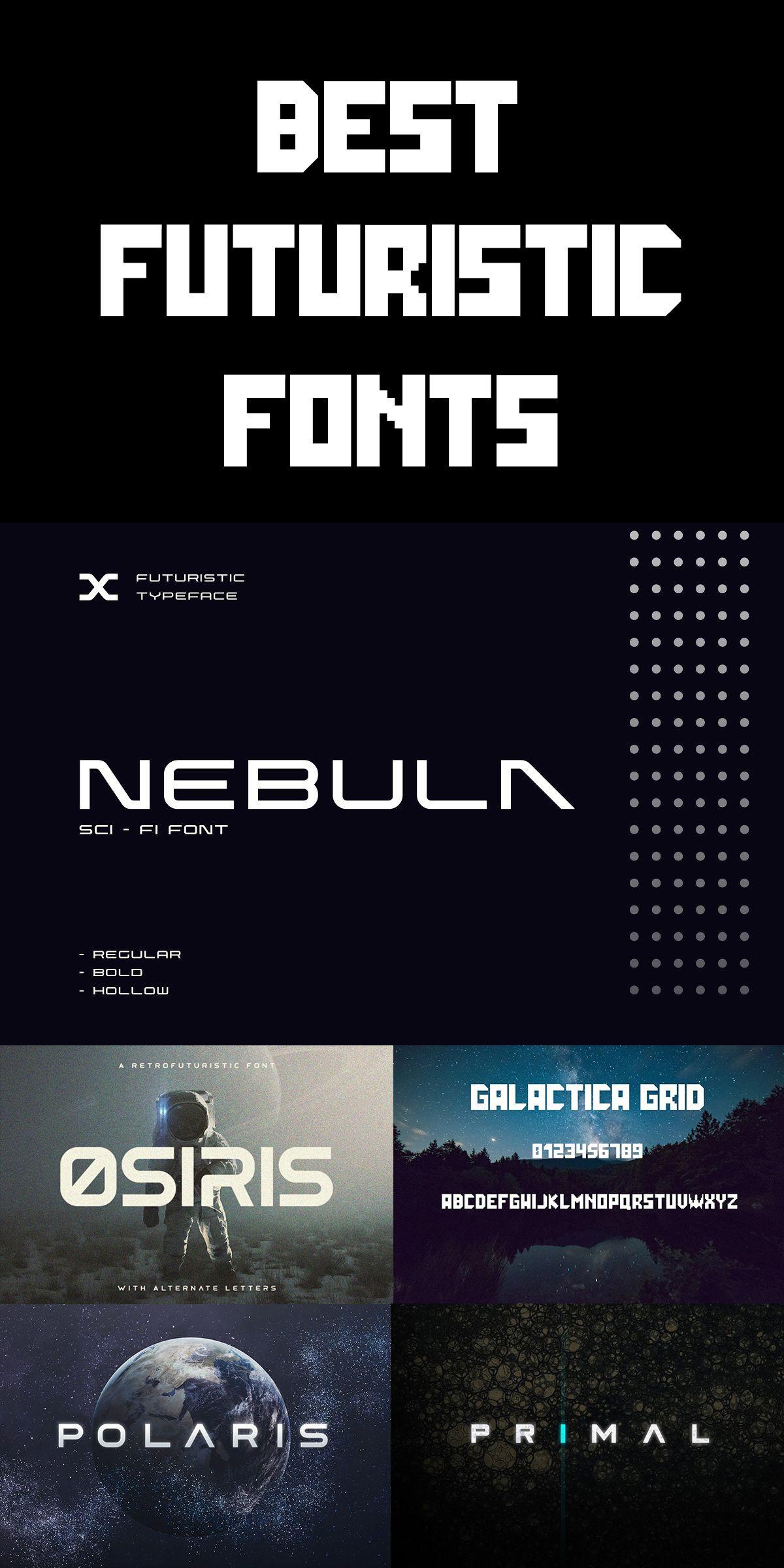 Best Futuristic Fonts Futuristic Fonts Bold Logo Design Typeface Logo