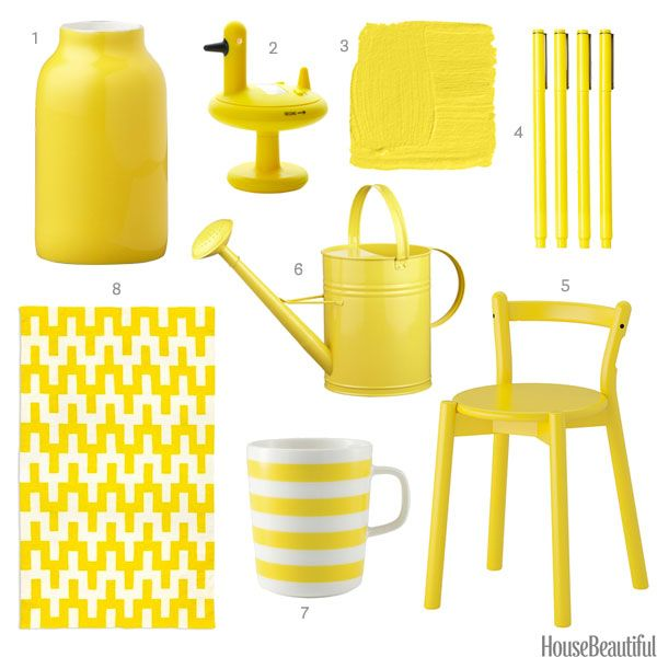 Charming Color Obsession Of The Week: Lemon Yellow