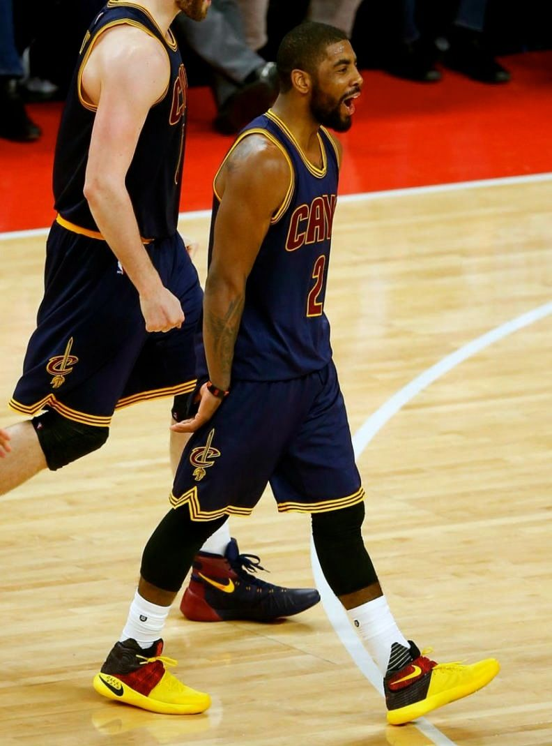 #SoleWatch: Kyrie Irving Comes Up Clutch in a Nike Kyrie 2 PE