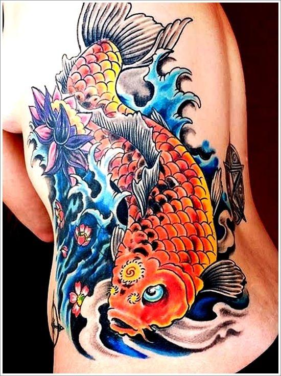 25 Japanese Water Tattoo Designs In 2020 Japanese Koi Fish Tattoo Koi Fish Tattoo Meaning Koi Tattoo Design