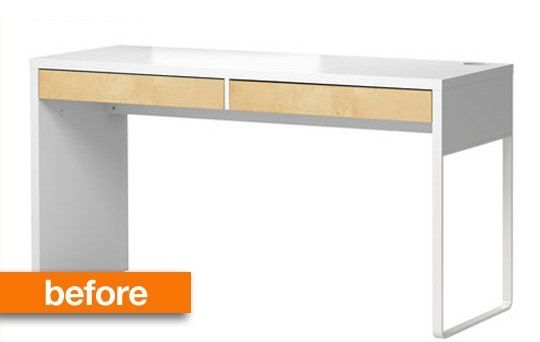 Jonathan S Ikea Contact Paper Desk Makeover Articles Desk