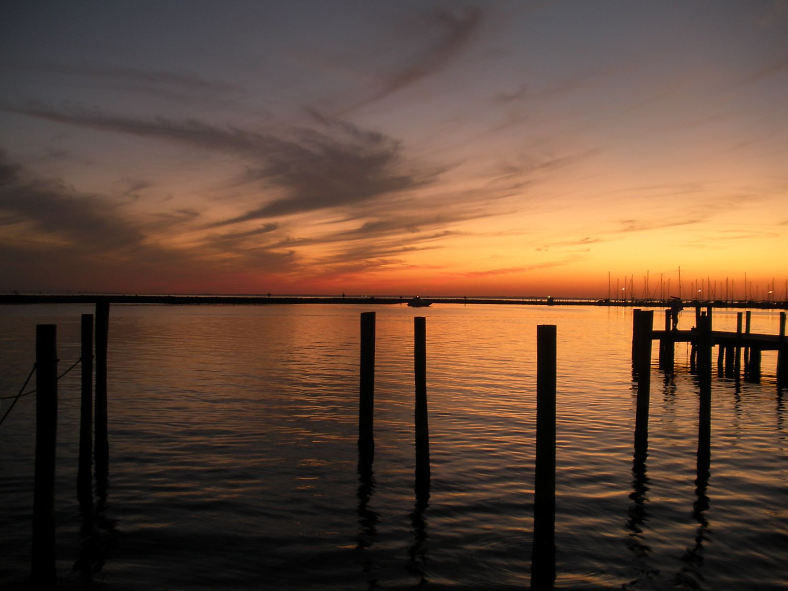 Reminder of a beautiful evening on Chesapeake Bay