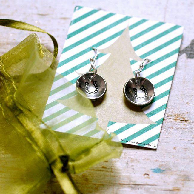 Last Minute DIY Earrings Potter Two