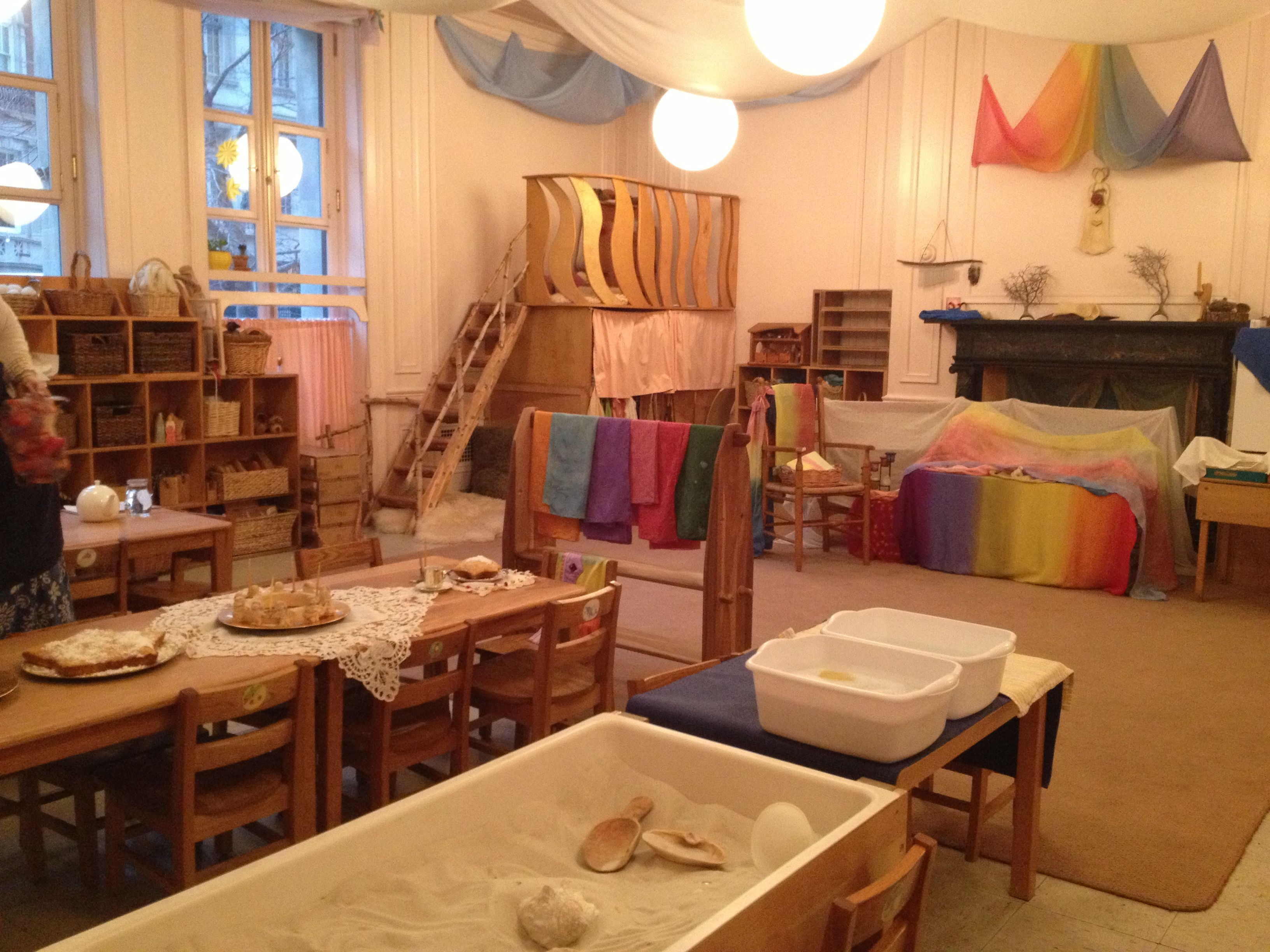 Kindergarten classroom at the rudolf steiner school of new - Material waldorf ...