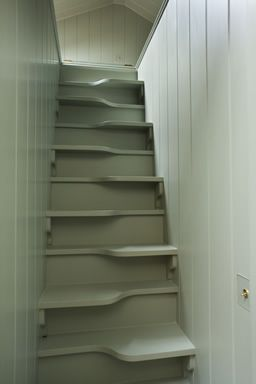 Very Unique Stairs For Tight Spaces Home A Hickman