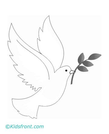 Animal S Name Coloring Pages Dove Dove And Olive Coloring Pages Doves