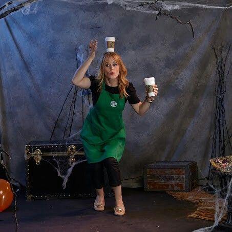 starbucks barista in training barista halloweencostume starbucks costume lifeofaphotostylist