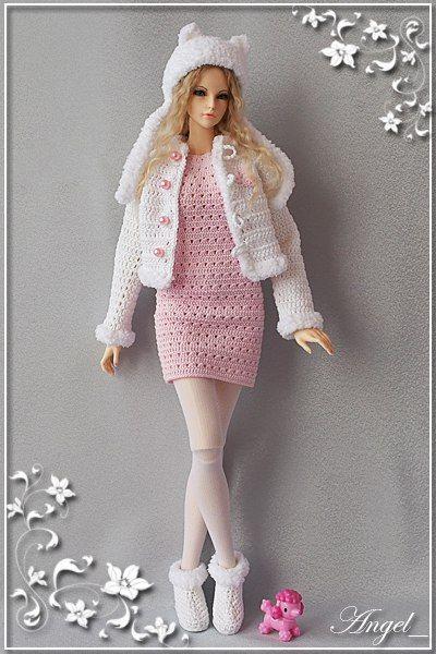 Фотография | Häkeln | Pinterest | Barbie kleider, Barbie und Puppen