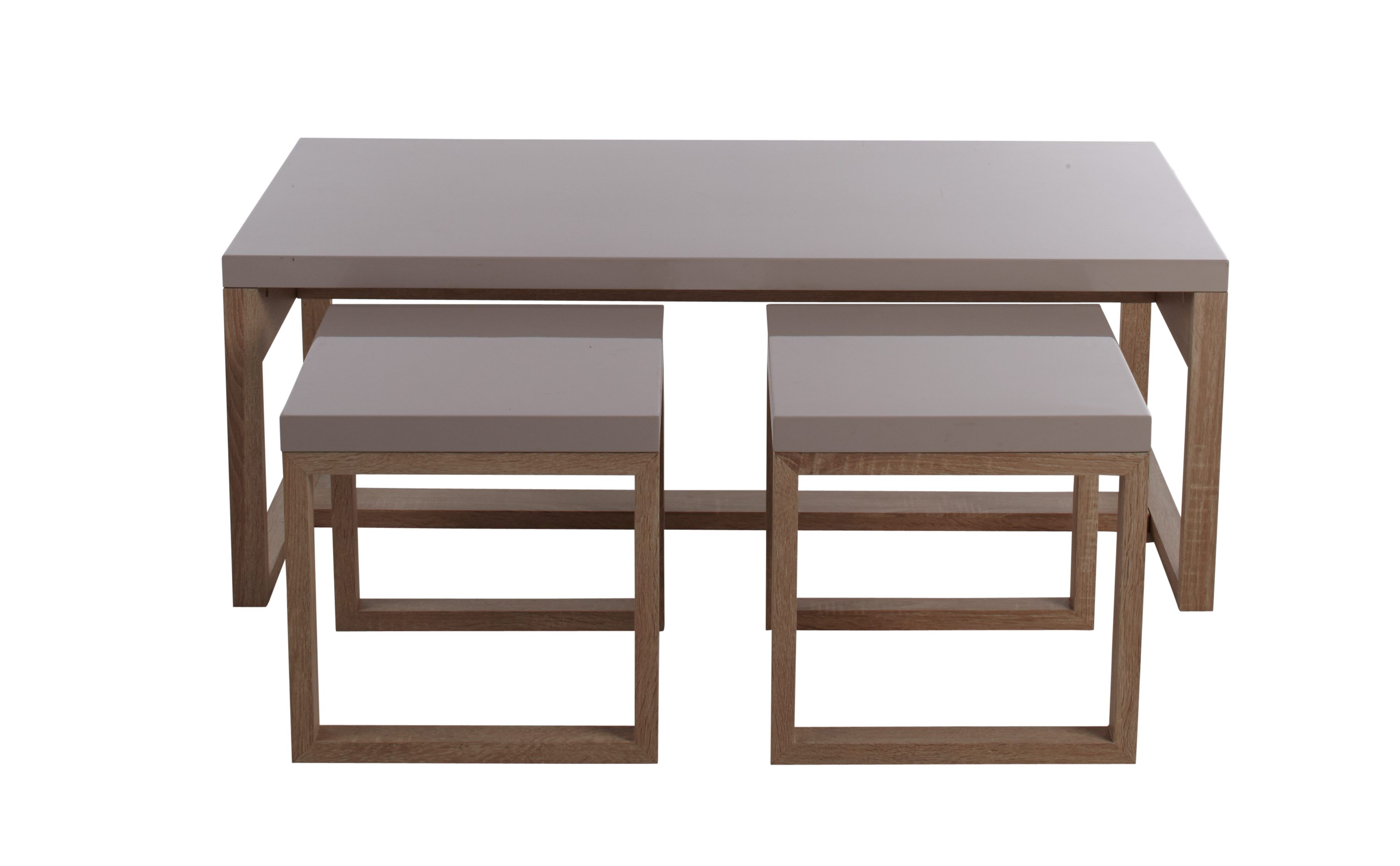 Table Basse 3 Gigognes Story Chene Taupe Tables Basses But