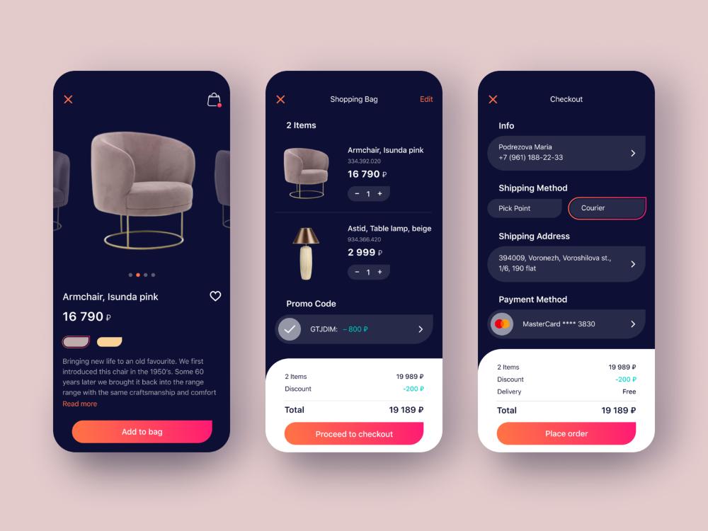 Online Shop App In 2020 Shopping App App Design App