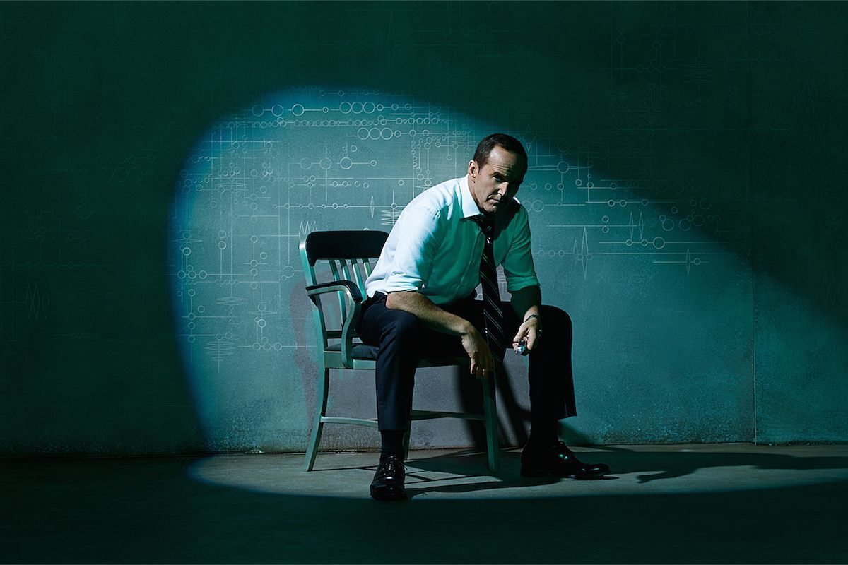 Agent Phil Coulson Marvels Agents Of Shield The Writing On