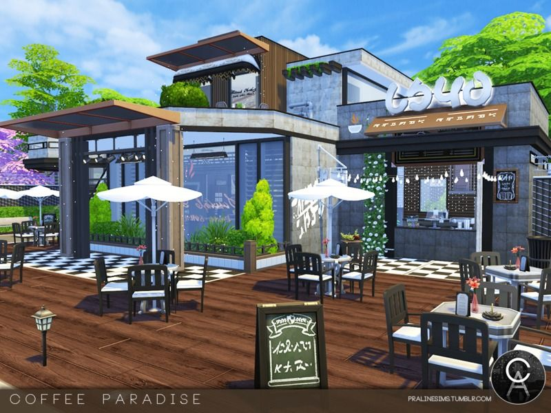 By Pralinesims Found in TSR Category 'Sims 4 Community Lots
