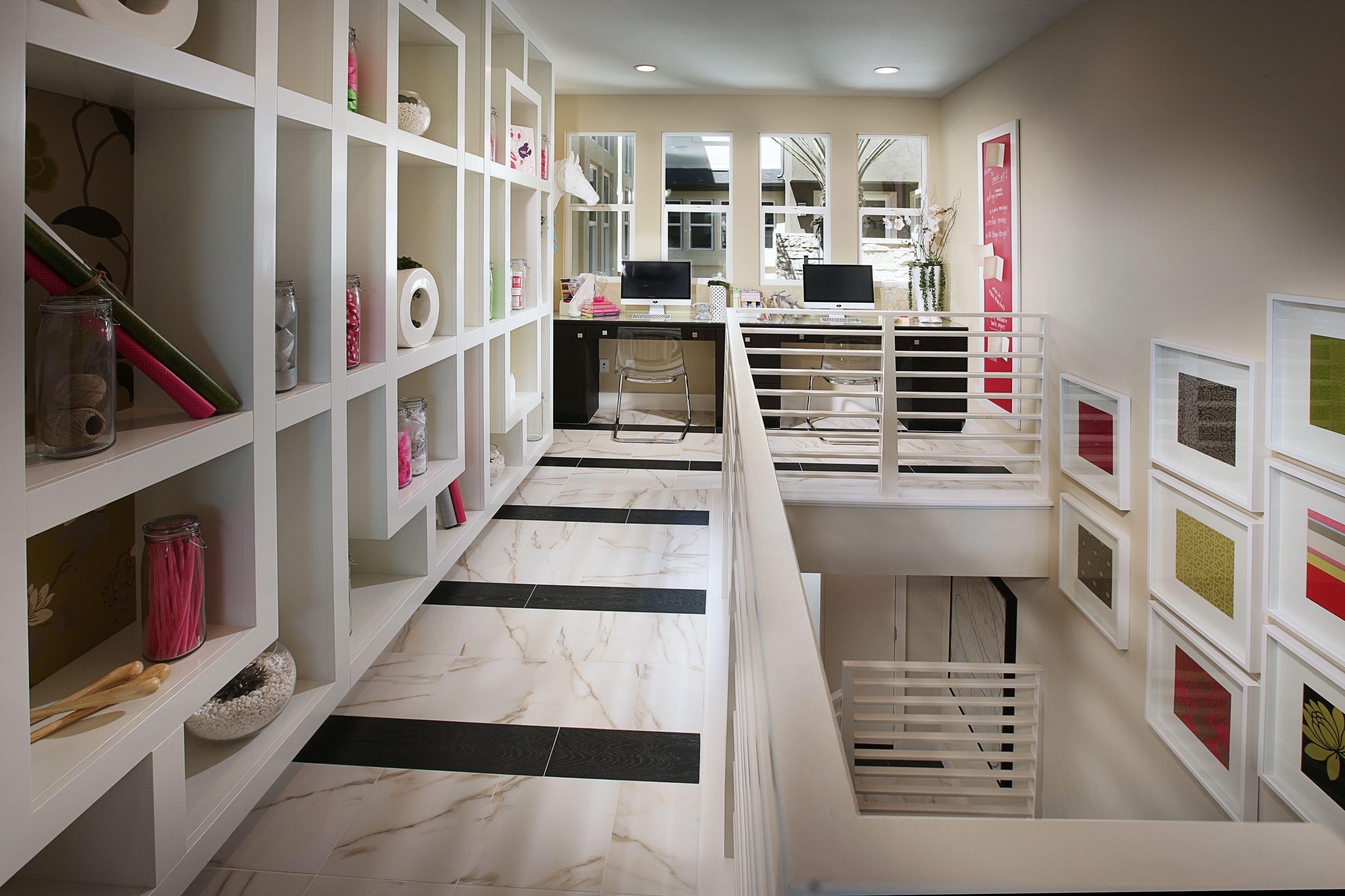 Loft Office Space Storage Design Www Sheahomes Com