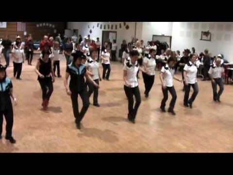 Crazy Foot Mambo Line Dance Several People Lost In This Group But I Love The