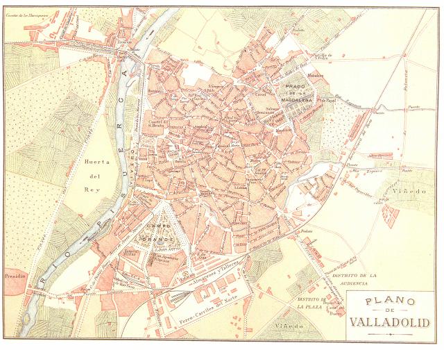 Planos De La Ciudad De Valladolid Ciudad De Valladolid Museo