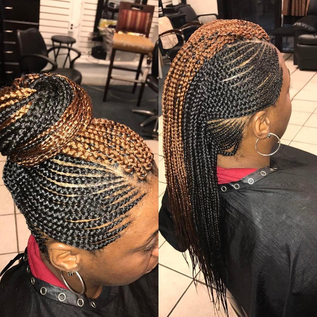 #mohawk #mohawkbraids #hairbyqueenbee #shecute #sheloveit #braids | Hair styles, Womens ...