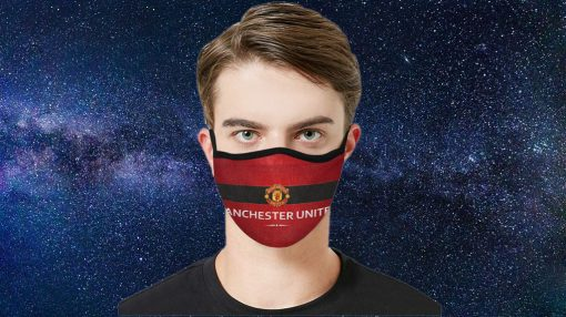 Manchester United Face Mask Antibacterial Fabric Face Mask Archives Burgershirt Com In 2020 Mask Homemade Face Masks Face Mask