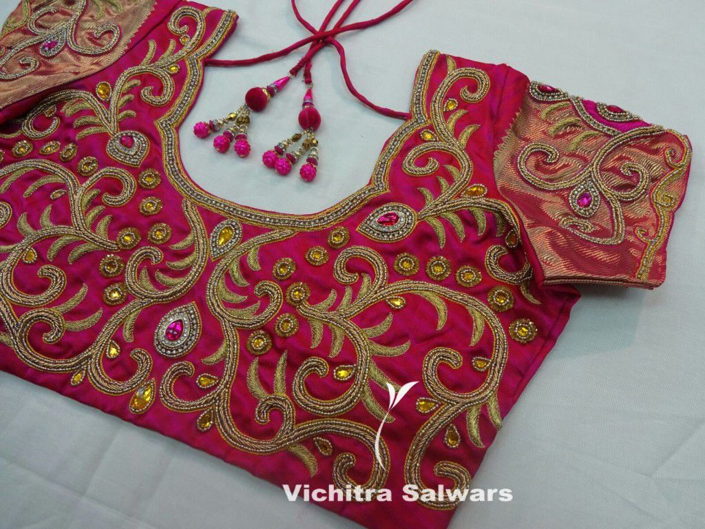 Work blouse blouses pinterest blouse designs saree and embroidery
