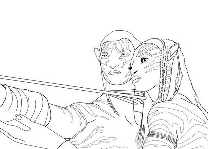 Avatar Coloring Pages With Images Cartoon Coloring Pages