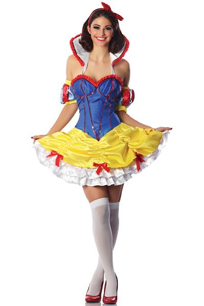 Snow White Costume Princess Costume Sexy Halloween Fantasy Costumes  sc 1 st  Pinterest & Snow White Costume Princess Costume Sexy Halloween Fantasy Costumes ...
