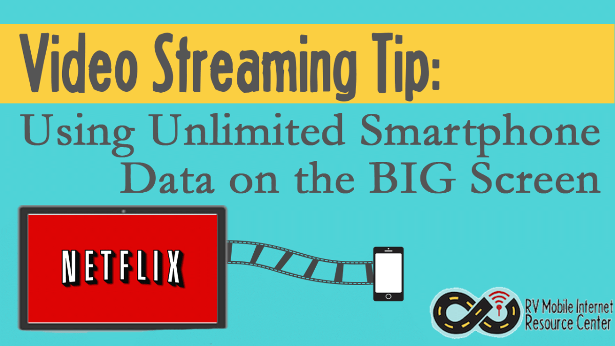 A Trick For Streaming Video On Smartphones And Tablets With Unlimited Data Plans That Cap Tethering Use To The Video Streaming Streaming Mobile Technology