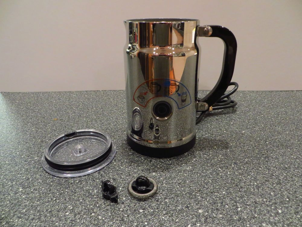 Nespresso Aeroccino Plus Automatic Milk Frother Model 3192 Euc